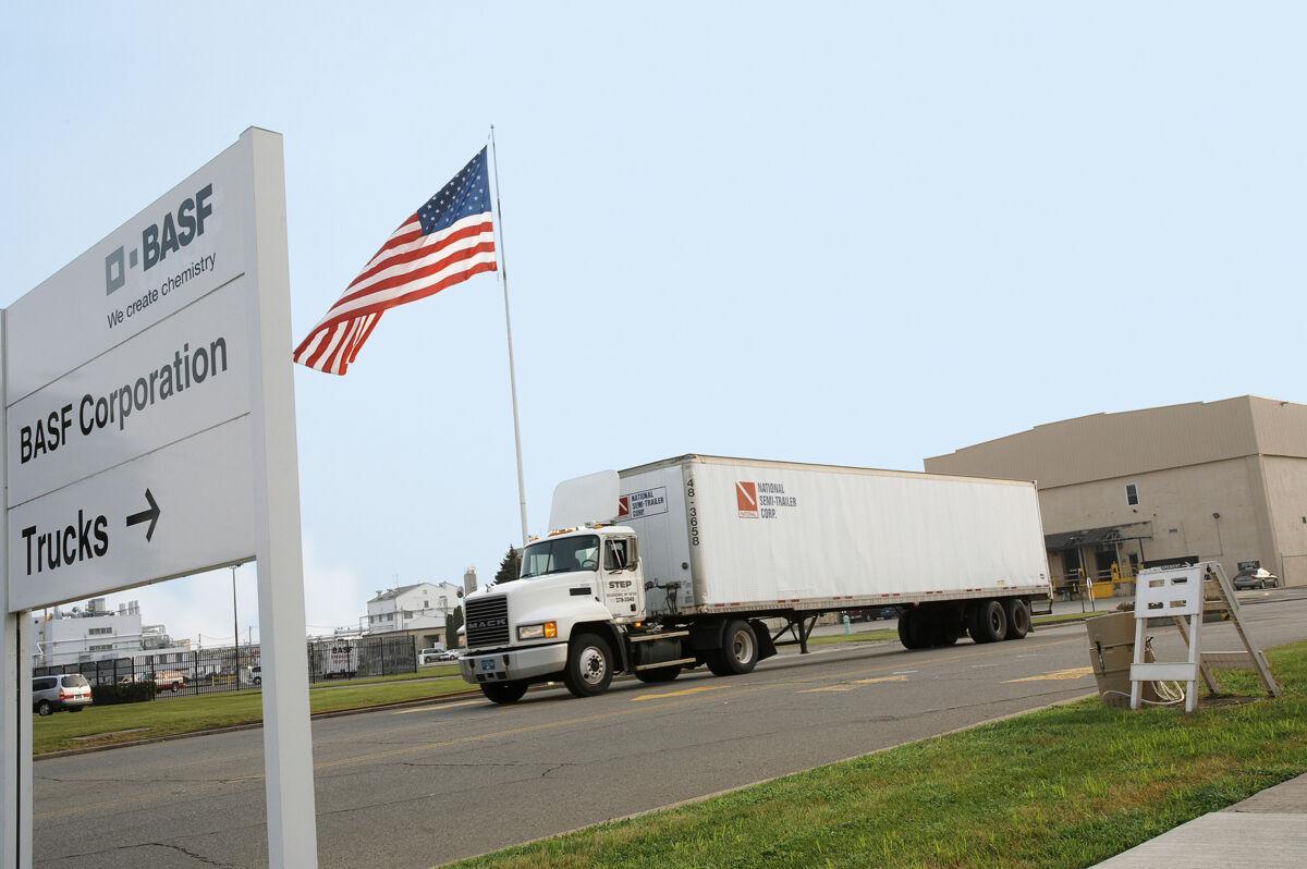 شرکت BASF (شرکت تولید کننده مواد شیمیایی در آمریکا)