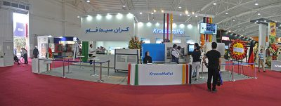 Karan Sima Fam first presence in Iranplast exhibition as the exclusive agency of KraussMaffei