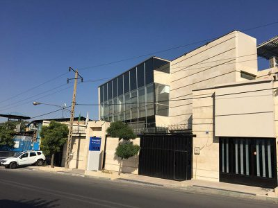 New building of Karan Sima Fam dedicated to KraussMaffei in Iran